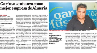 Garfusa mejor empresa de Almería